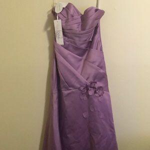 A bridesmaid dress never worn!